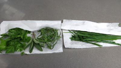 Mousseline d'épinards au mascarpone - 1.1