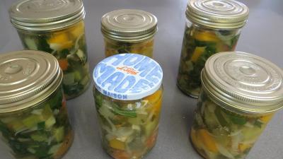 Conserves de butternut et legumes aux senteurs de Provence - 7.4