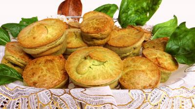 Recette Muffins aux épinards