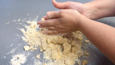 Crumble aux blettes en cassolettes - 7.1