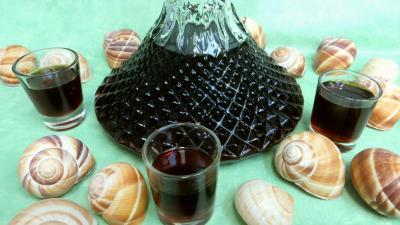 Conserves : Carafe de liqueur de café