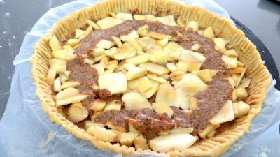 Tarte aux pommes et aux amandes - 7.1