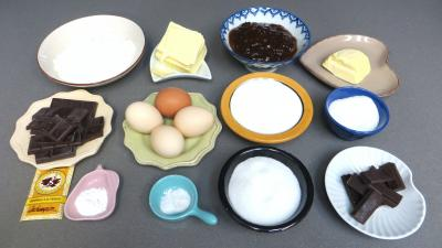 Ingrédients pour la recette : Sachertorte