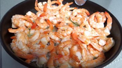 Cuillères de crevettes à la Chantilly - 2.1