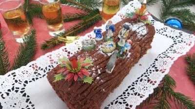 Recette Bûche de Noël aux marrons