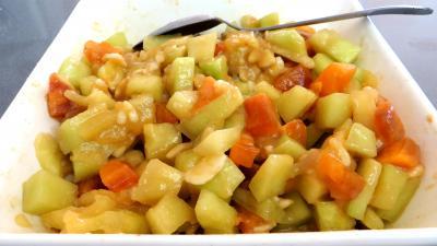 Pastèque en salade meringuée - 5.4