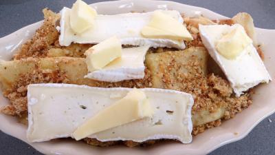 Cassolettes de crêpes fourrées au camembert - 8.2