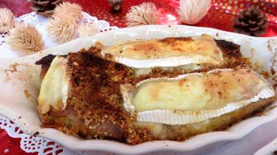 Pour débutants : Cassolettes de crêpes fourrées au camembert