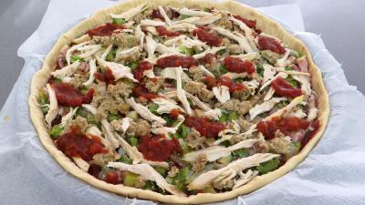 Pizza au chapon et poireaux - 8.1