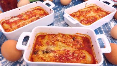 cassolette : Cassolettes de quenelles natures à la sauce bolognaise