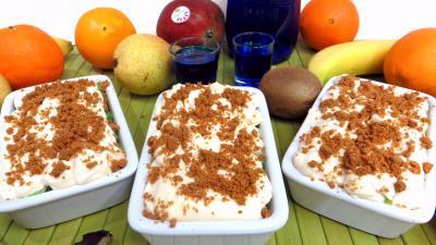 salade de fruits : Cassolettes de fruits en salade au mascarpone