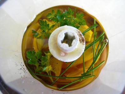 Salade de mâche aux foies de volaille et aux pommes - 5.1