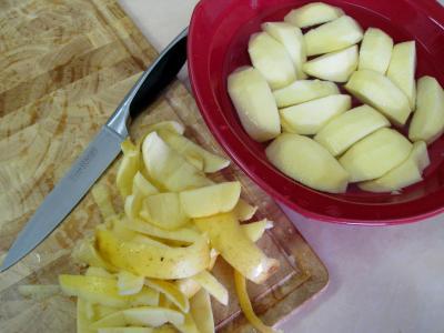 Salade de mâche aux foies de volaille et aux pommes - 8.1