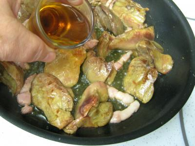 Salade de mâche aux foies de volaille et aux pommes - 11.1