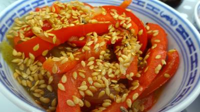 Sauté de concombre et poivrons à la chinoise - 7.1