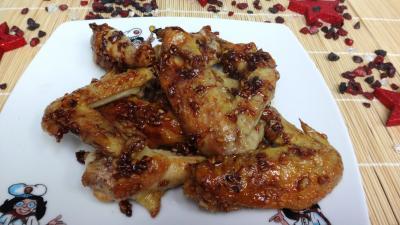 Recette Ailes de poulet au miel