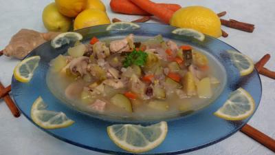 Soupes & potages : Soupe au citron