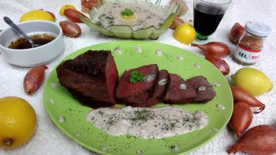 Rôti de bison sauce au citron - 3.2