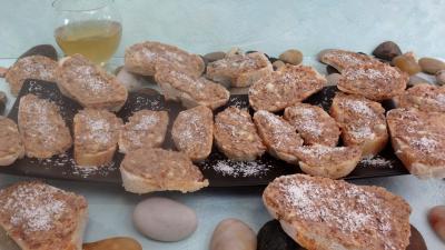 Recette Canapés aux anchois