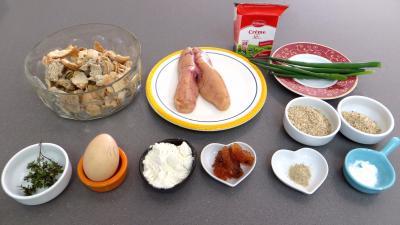 Ingrédients pour la recette : Galettes d'oeufs de cabillaud frais