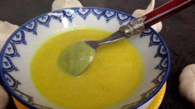 Recette Crème d'ail