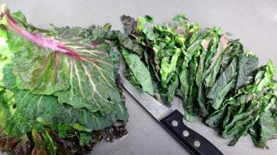 Salade au chou, noix et féta - 1.3