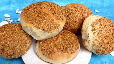 Pains & pâtes : Boules de pain au miel