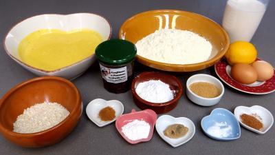 Ingrédients pour la recette : Callas