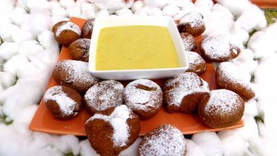 Cuisson au bain de friture : Assiette de callas