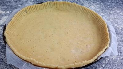 Recette Pâte à quiche épicée