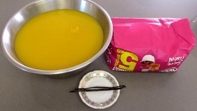 Ingrédients pour la recette : Confiture de punch orange-ananas