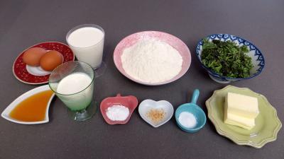 Ingrédients pour la recette : Muffins aux brocolis