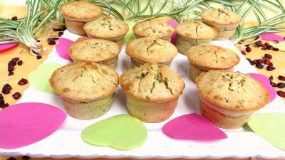 farine type 55 : Muffins aux brocolis