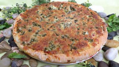 Recette Pizza aux brocolis