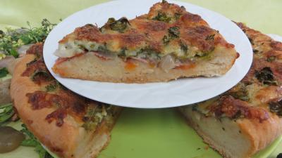 Pizza aux broutes - 6.4
