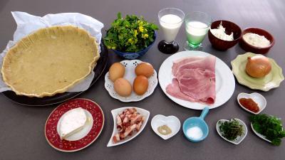 Ingrédients pour la recette : Clafoutis aux broutes