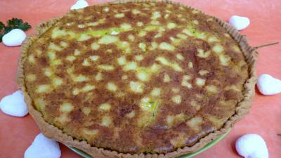 Recette Tarte au camembert