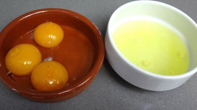 Sapins aux amandes et cacao (sablés) - 1.1