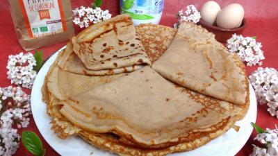 Image : recette Crêpes à la farine de châtaigne façon Corse