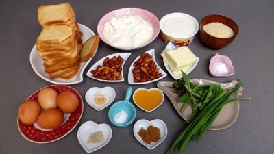 Ingrédients pour la recette : Cheesecake au brousse