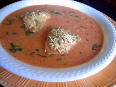 Recette Crème de tomates