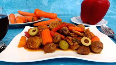 Recette Filet de porc aux châtaignes