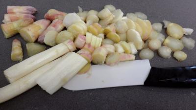 Tarte aux asperges au fromage frais de chèvre - 2.2