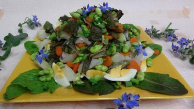 Recette Salade braisée aux carottes