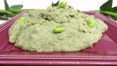 purée de légumes : Purée de fèves