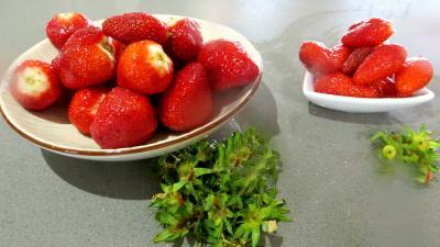 Gâteau à la fraise sans gluten - 1.2