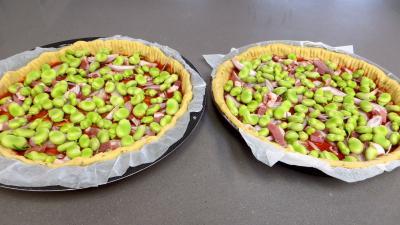 Pizza aux fèves - 4.1