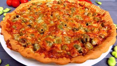 Recette Pizza aux fèves