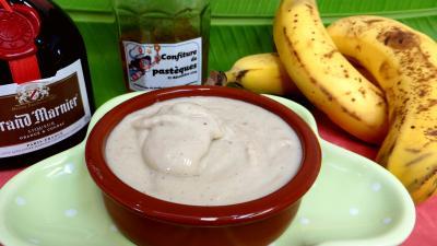 Glace ou crème glacée à la banane - 7.2