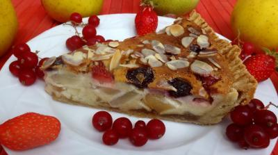 Recette Morceau de tarte aux fruits